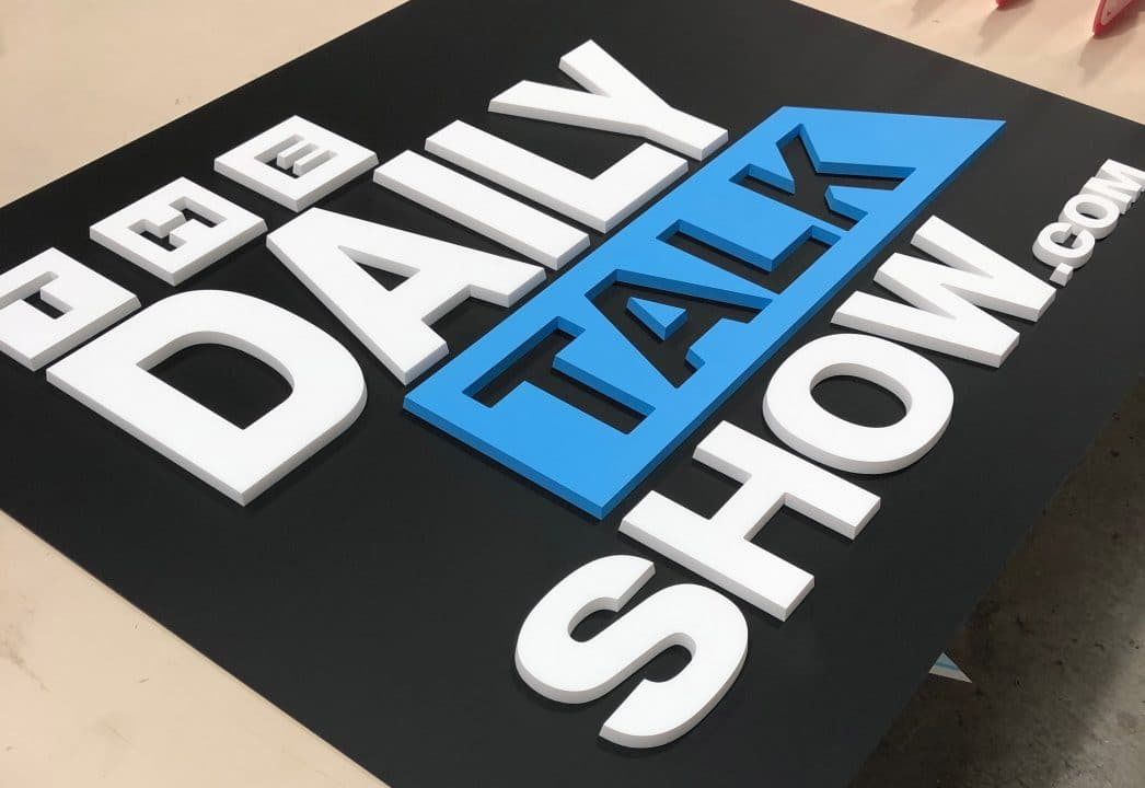 The Daily Talk Show Podcast Sign